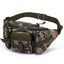 Obangbag Colorfu 3 Men Multifunction Multi Pockets Roomiy Outdoor Waterproof Waist Bag for Sport