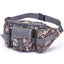 Obangbag Colorful 2 Men Multifunction Multi Pockets Roomiy Outdoor Waterproof Waist Bag for Sport