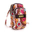 Obangbag Flower Women Mini Cute Colorful Multi Pockets Oxford Clutch Bag Shoulder Bag