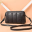 Obangbag Gray 1 Women Vintage Cute Mini Roomy Professional Soft Leather Crossbody Bag Shoulder Bag
