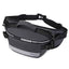 Obangbag Gray Men Chic Daily Multi Layers Multifunction Roomy Nylon Waterproof Fanny Pack Chest Bag Waist Bag