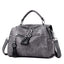 Obangbag gray Multifunctional Large Capacity Fashion Shoulder Bag Messenger Bag