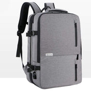 Obangbag gray Multifunctional Large Capacity Waterproof Business Travel Backpack Luggage Bag