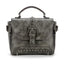 Obangbag Gray Vintage Oil Leather Luxury Handbags Retro Shoulder Bag