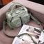 Obangbag Gray Women's Vintage Leather Large Capacity Messenger Bag / Handbag
