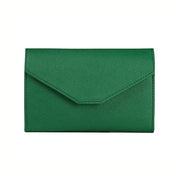 Obangbag Green Leather Vintage Wallet Ticket Holder