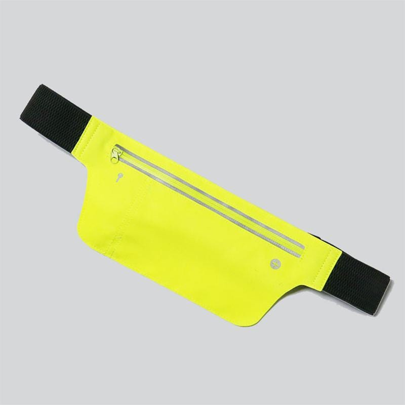 Obangbag Green Unisex Chic Sports Multifunction Outdoor Running Lycar Waterproof Fanny Pack Waist Bag