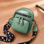 Obangbag Green Women Retro Mini Cute Stylish PU Leather Crossbody Bag Shoulder Bag