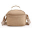 Obangbag Khaki Women Multi Pockets Waterproof Nylon Shoulder Bag Lightweight Handbag Mummy Bag