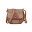 Obangbag Khaki Women Vintage Retro Cute PU Leather Crossbody Bag Shoulder Bag