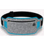 Obangbag Light Gray+Blue Unisex Casual Simple Multifunction Outdoor Anti-theft Running Lycar Waterproof Fanny Pack for Sport
