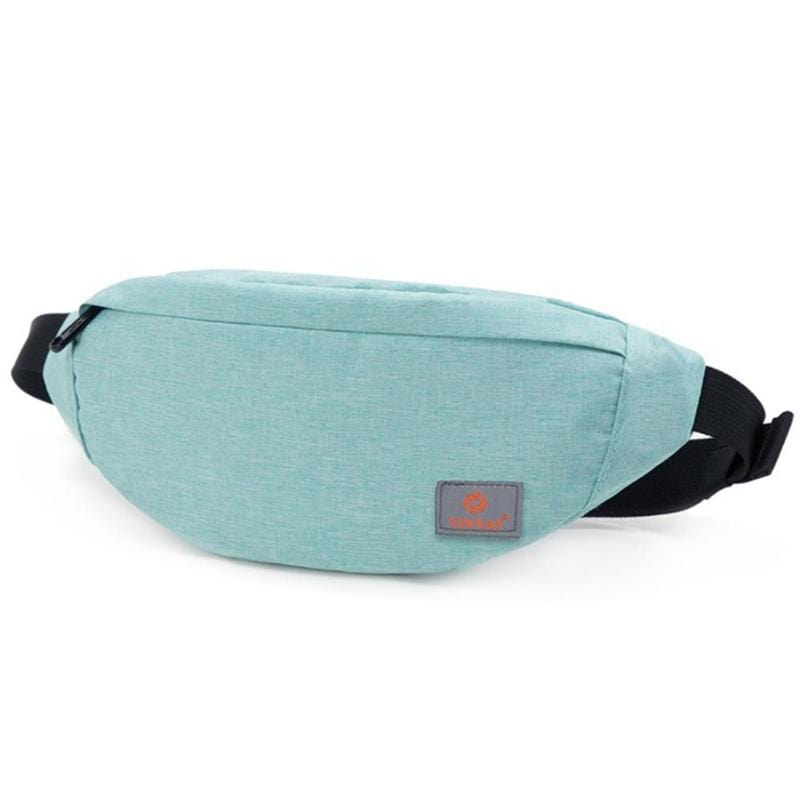 Obangbag Light Green Unisex Lightweight Multifunction Casual Sports Outdoor Waterproof Fanny Pack Phone Bag