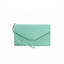 Obangbag Light Green Women Chic Stylish Cute Multi Pockets Wallet Purse Card Holder