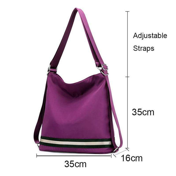 Obangbag Multi Function Anti Theft Waterproof Travel Shoulder Bag