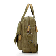 Obangbag Multi Function Unisex Canvas Messenger Bag Backpack