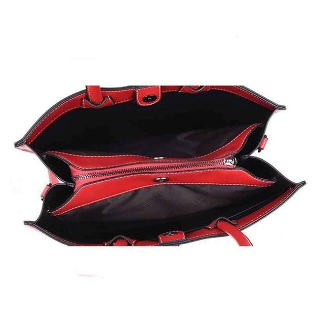 Obangbag Multi Layer Large Capacity Single Shoulder Messenger Bag Handbag iPad Bag