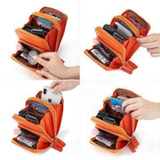 Multi-Pocket Multi Layer Mini Crossbody Phone Bag-Obangbag
