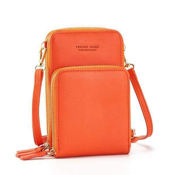 Obangbag Multi-Pocket Multi Layer Mini Crossbody Phone Bag