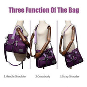 Obangbag Multi Purpose Nylon Casual Handbag Roomy Daily Bag