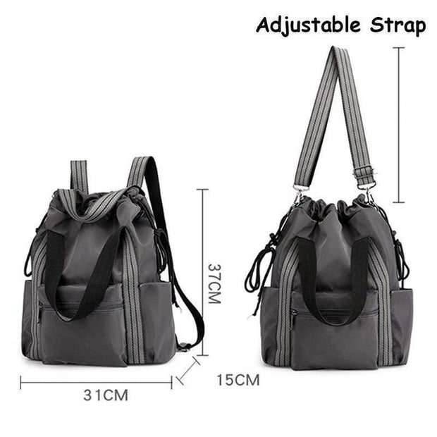 Obangbag Multifunction Adjustable Travel Backpack Waterproof Zipper Shoulder Bag Backpack