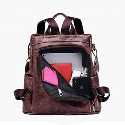 Obangbag Multifunction Anti Theft iPad Backpack Large Capacity Shoulder Bag