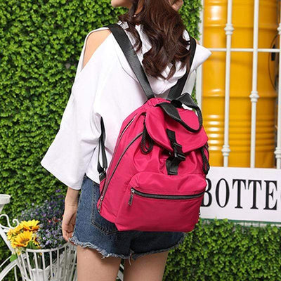 Obangbag Multifunction Anti-theft Waterproof Large Capacity Handbag Backpack