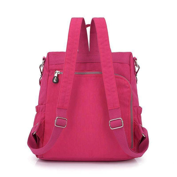Obangbag Multifunctional Ladies Shoulder Bag Wild Travel Waterproof Nylon Large Capacity Backpack
