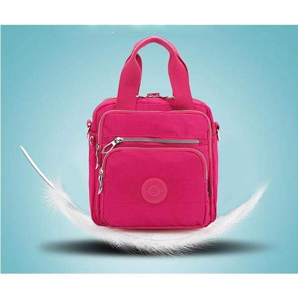 Obangbag Nylon Water-proof Wearable Multifunctional Women Backpack