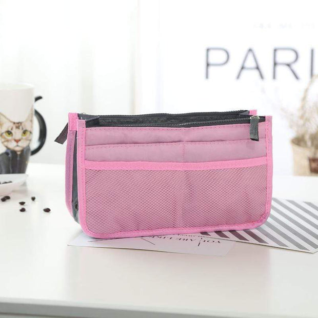 Obangbag pink Large Capacity Multi Function Wild Storage Bag