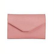 Obangbag Pink Leather Vintage Wallet Ticket Holder