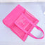Obangbag Pink Women Fashion Outdoor Multifunction Roomy Sports Picnic Nylon Storage Bag Shoulder Bag