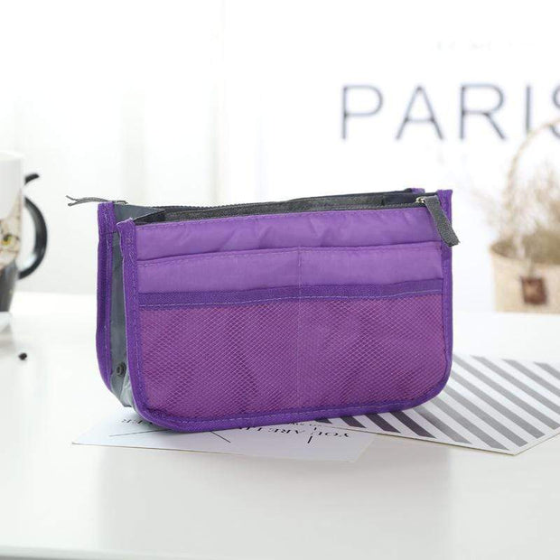 Obangbag purple Large Capacity Multi Function Wild Storage Bag