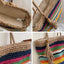 Obangbag Rainbow Ladies Fashion Straw Woven Rainbow Color Shoulder Bag