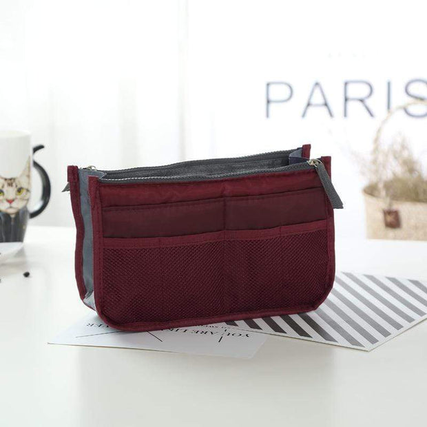 Obangbag red wine Large Capacity Multi Function Wild Storage Bag