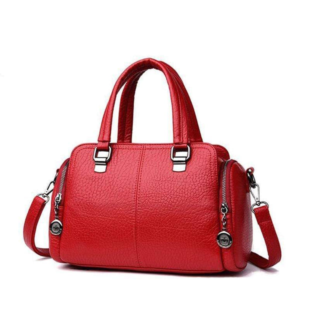 Women's Handbag Solid Color All Matched Elegant Large Capacity Bag-Obangbag