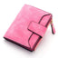 Obangbag Rose Women Leather Wallets Cards Holders Coin Pocket Purse