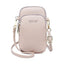 Obangbag Taro Purple Women Cute Chic Roomy Lightweight Portable Multifunction Leather Phone Bag Crossbody Bag
