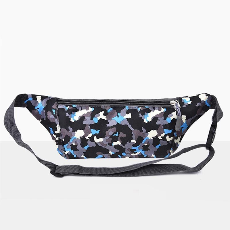 Obangbag Unisex Chic Outdoor Running Anti-theft Roomy Sport Oxford Waterproof Fanny Pack Waist Bag Phone Bag