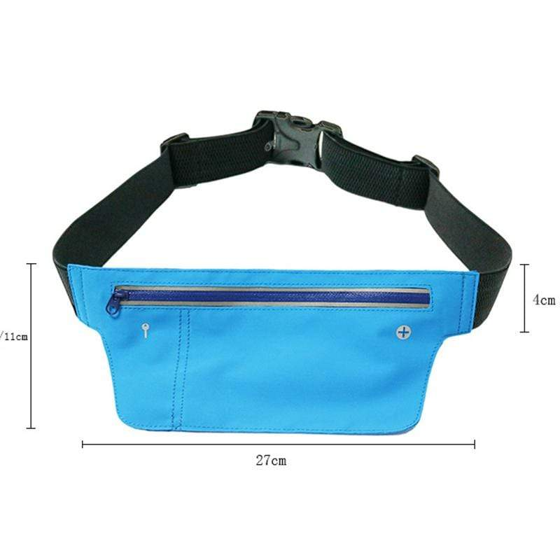 Obangbag Unisex Chic Sports Multifunction Outdoor Running Lycar Waterproof Fanny Pack Waist Bag
