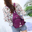 Obangbag Unisex Chic Stylish Roomy Multifunction Waterproof Nylon Backpack Shoulder Bag Chest Bag for Travel