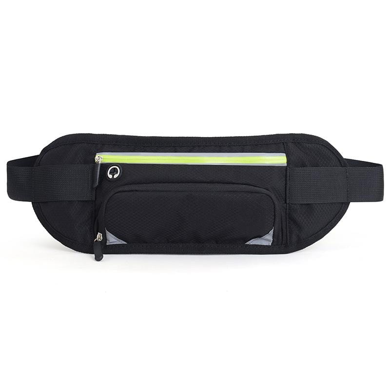 Obangbag Unisex Large Capacity Earphone Access Outdoor Waterproof Fanny Pack Waist Bag for Sport