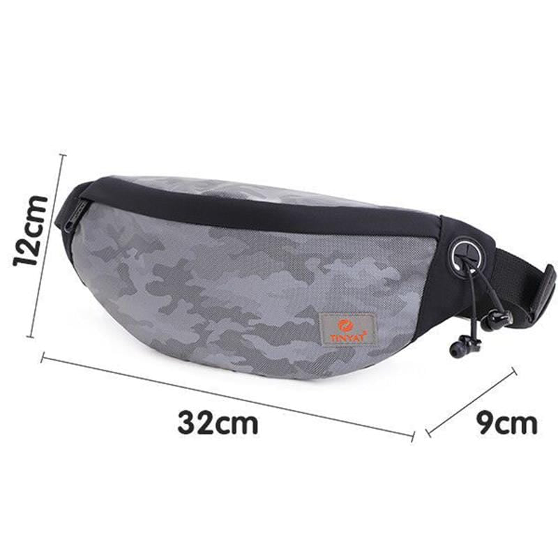 Obangbag Unisex Lightweight Multifunction Casual Sports Outdoor Waterproof Fanny Pack Phone Bag