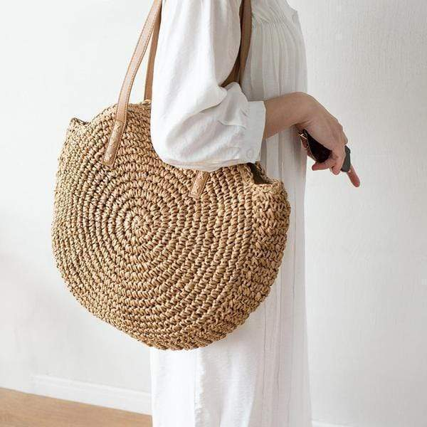 Obangbag Vietnamese Summer Fashion Handmade Rattan Bag