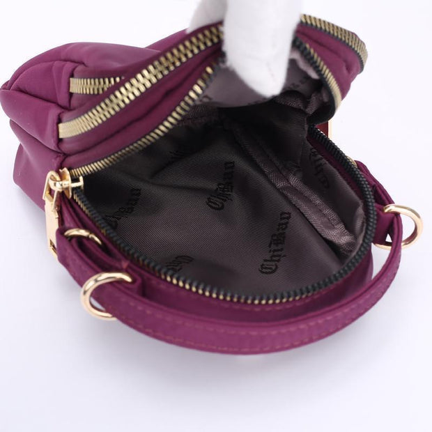 Obangbag Waterproof Multi Function MINI Women's Handbag Crossbody Bag Phone Bag