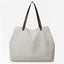 Obangbag white Large Capacity Casual School Teacher Canvas Tote Bags