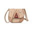 Obangbag White Women Vintage Retro Cute PU Leather Crossbody Bag Shoulder Bag
