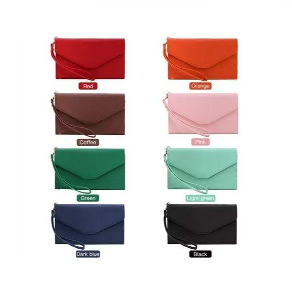 Obangbag Women Chic Stylish Cute Multi Pockets Wallet Purse Card Holder