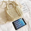 Obangbag Women Cute Chic Stylish Spring Lightweight Roomy Woven Straw Handbag Crossbody Bag