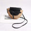 Obangbag Women Fashion Handmade Straw Woven Beach Bag Crossbody Bag for Travel