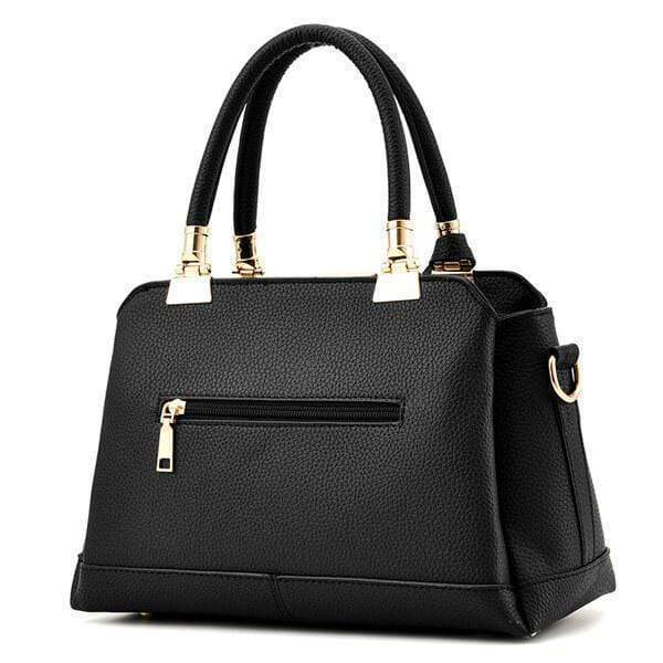 Obangbag Women Fashion Work Large Capacity Leather Tote Bag Shoulder Bag